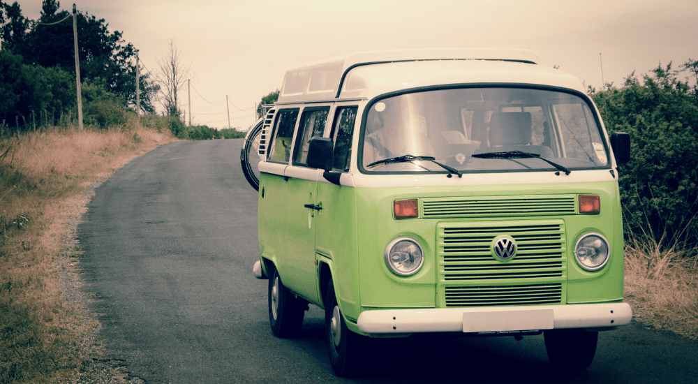 wild camping with a campervan