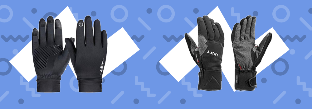 best nordic walking gloves