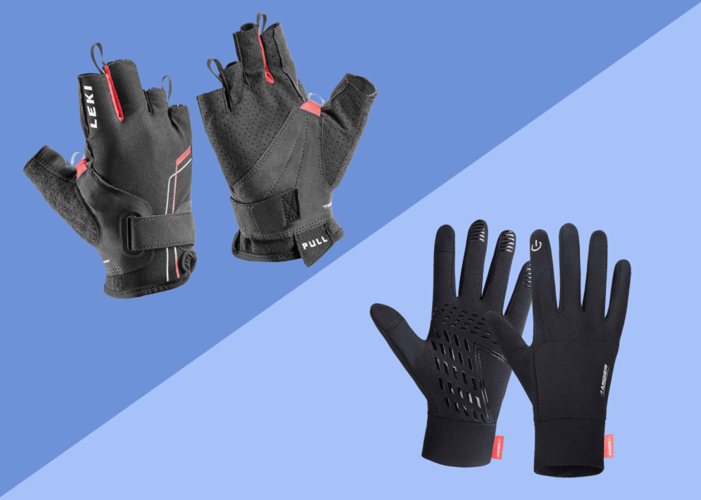 best nordic walking gloves