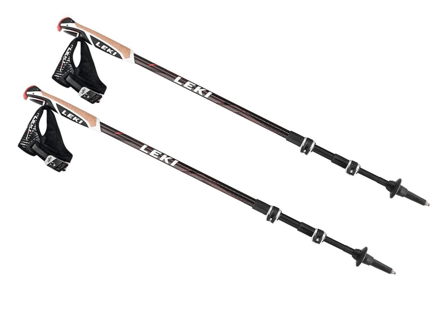 LEKI Traveller Carbon Walking Poles