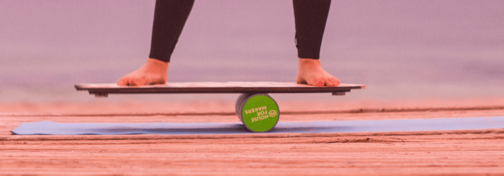 7 Balance Board Exercises for Total Body Conditioning