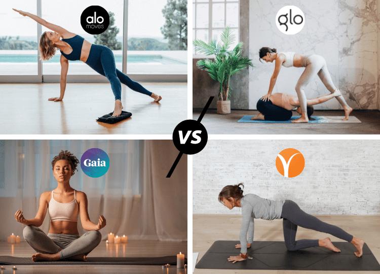 alo moves vs glo vs gaia vs yoga international